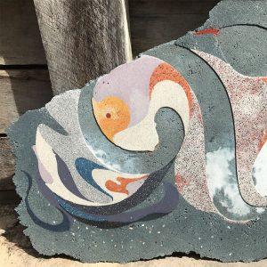 Concrete art in progress